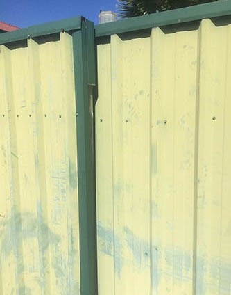 Imported-fence