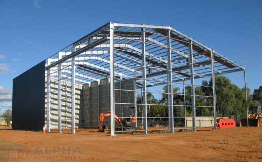 Industrial Frame & Canopy