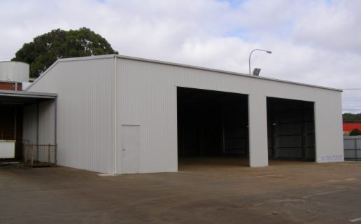 Adelaide Entertainment Centre Vehicle Bay in Surfmist®