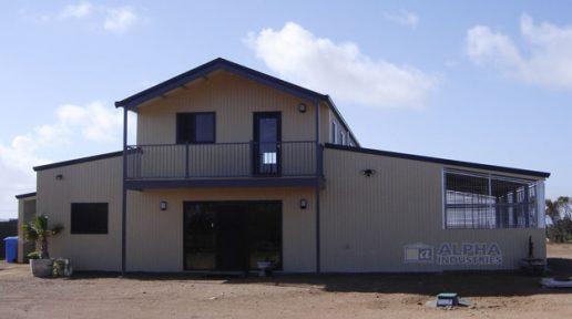 American Barn with Enclosure