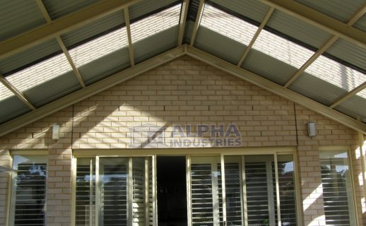 Attached Gable Verandah