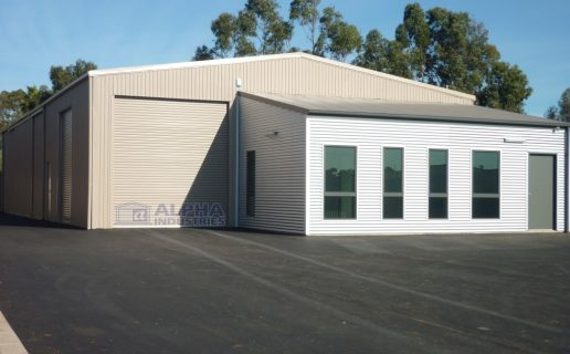 Paperbark® Warehouse with attached Office