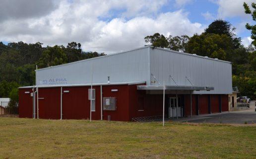 Lenswood Primary Gymnasium in Surfmist®