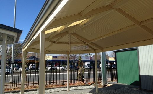 Living Collection® Verandah with Gazebo End