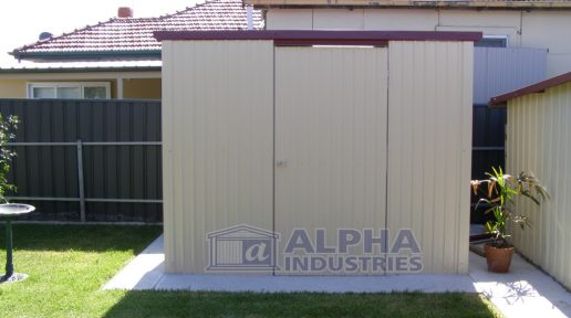 Garden Shed with PA Door