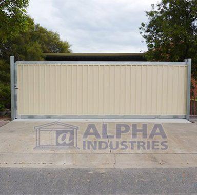 Sliding Panel Gate