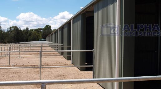 Sunnybrae Pony Club Stables in Pale Eucalypt®