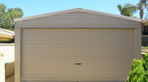 shed garage double rollerdoor