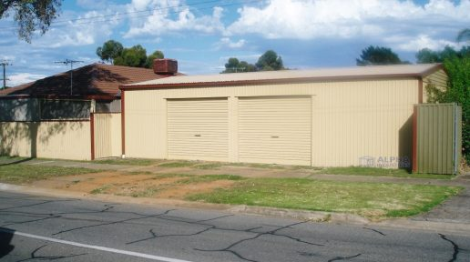 domestic garage shed