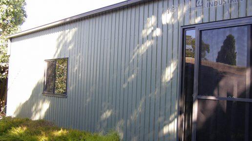 Dune® Garage with Glass Sliding Door & Aluminium Window