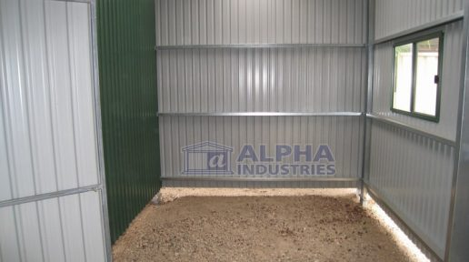 gable shed internal partition