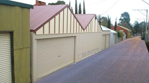 heritage gable shed garage