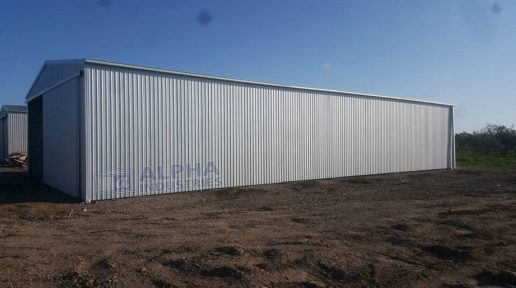 ZINCALUME® Farm Shed with Gable Sliding Doors